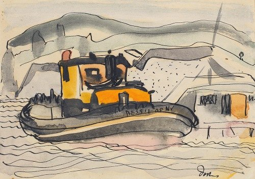 Study for The 'Bessie' of New York (1932)
