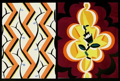 Kunstgewerbliche Schmuckformen fur die Flache Pl 44 (1920)