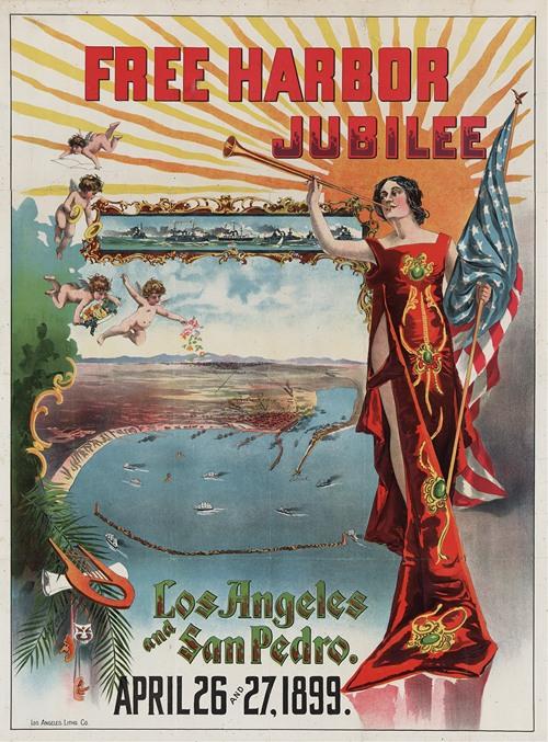 Free harbor jubilee, Los Angeles and San Pedro (1899)