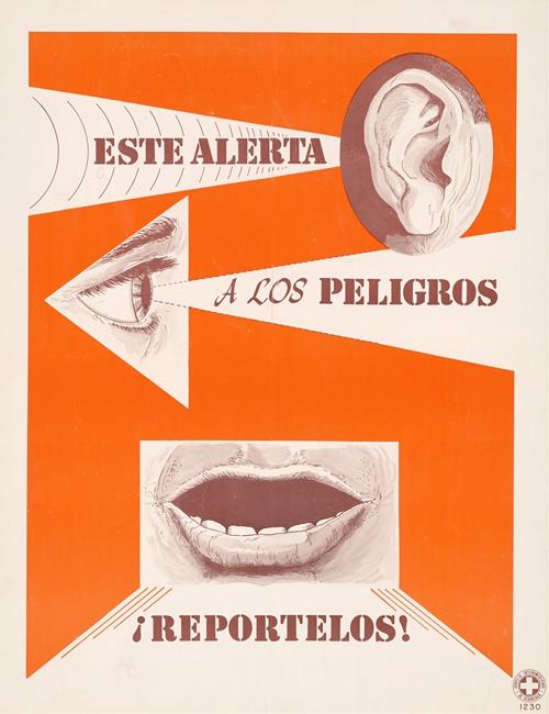 Esta alerta a los peligros; Reportelos! (1963)