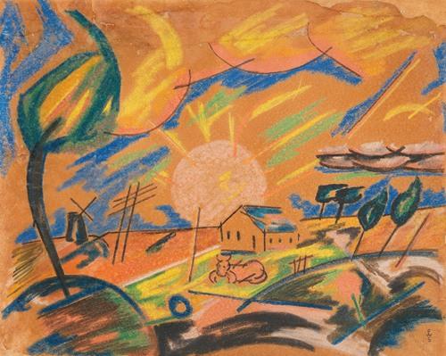 Morgen auf dem Lande (1918)