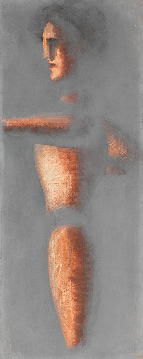 Figur auf grauem Grund (1928)