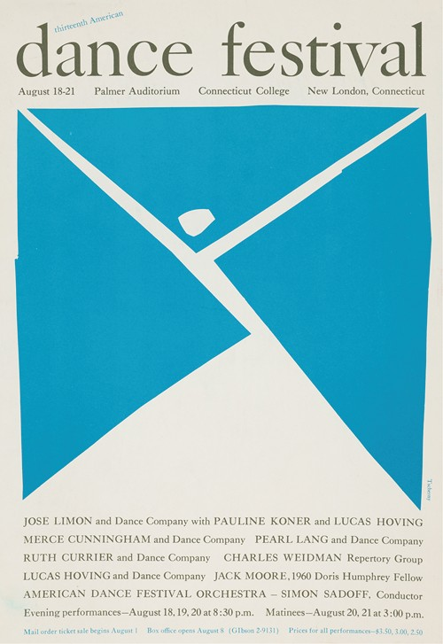 Thirteenth American dance festival (1960)