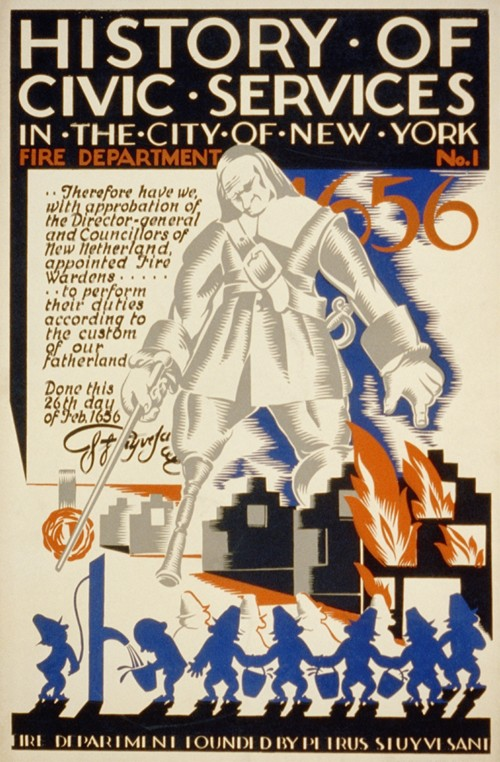 History of civic services in the city of New York Fire Department No. 1 (1936)