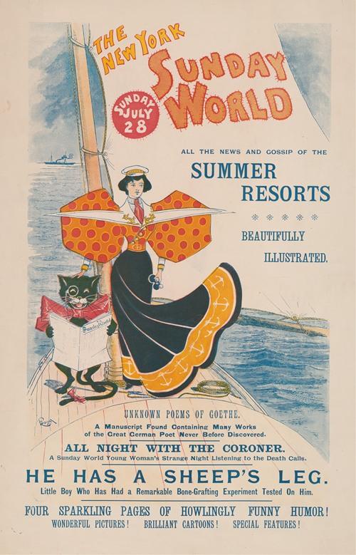 The New York Sunday World, Sunday, July 28 (1895)