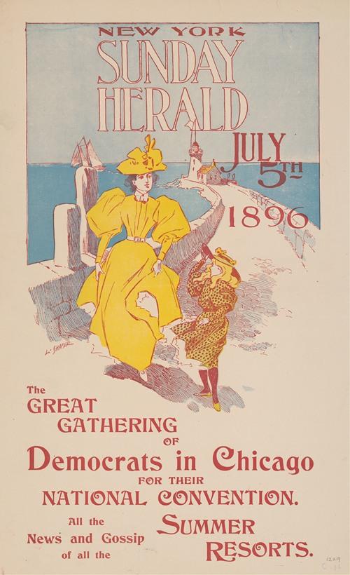 New York Sunday Herald, July 5th 1896. (1896)