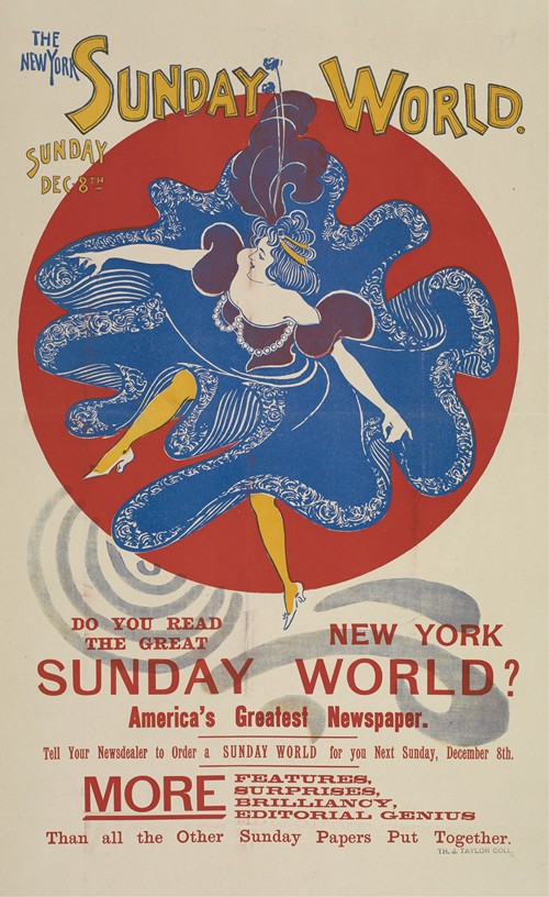 The New York Sunday world. Sunday Dec 8th. 1895 (1895)
