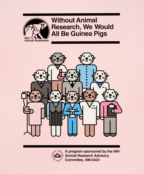 Without animal research, we would all be guinea pigs
