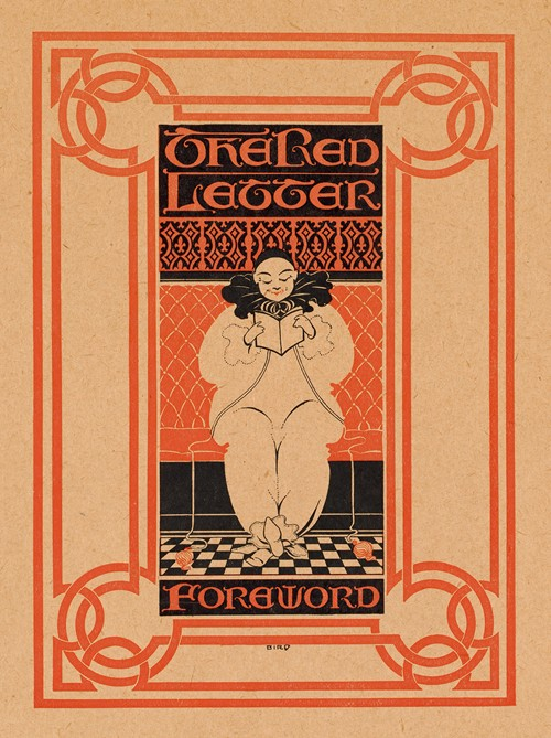 The red letter foreword (1890-1920)