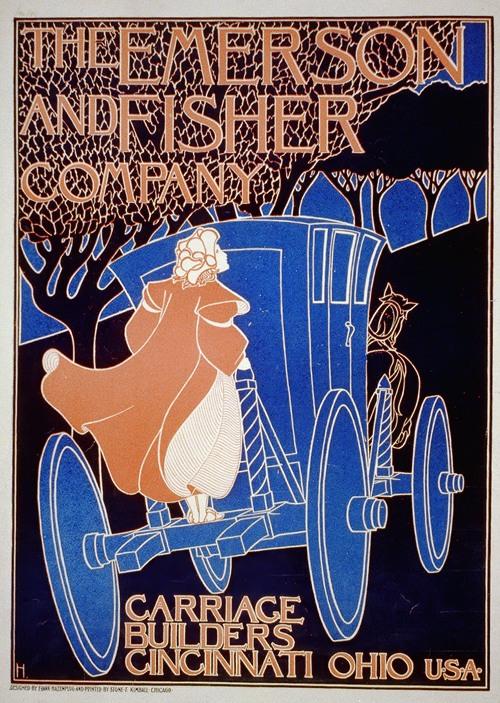 The Emerson & Fisher Company, carriage builders, Cincinnati, Ohio (1896)