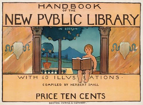 Handbook of the new public library in Boston (ca. 1890-1920)
