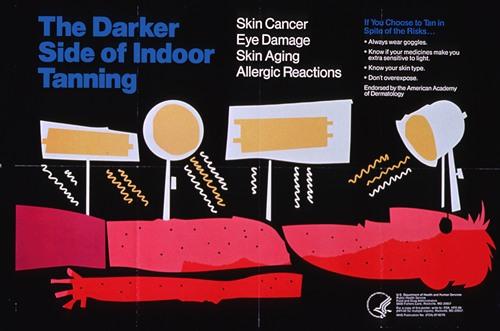 The darker side of indoor tanning, skin cancer, eye damage, skin aging, allergic reactions (1987)