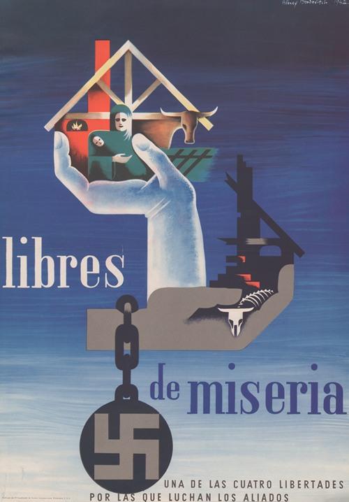 Libres de miseria. Una de las cuatro libertades por las que luchan los aliados (1942)