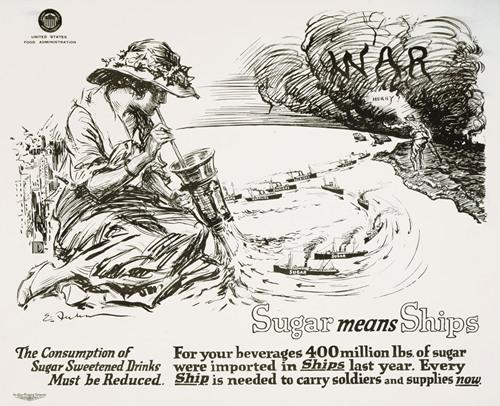 Sugar means ships (1918)