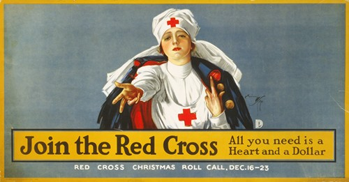 Join the Red Cross - all you need is a heart and a dollar (1918)