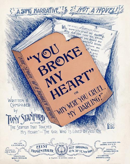 You broke my heart (1897)