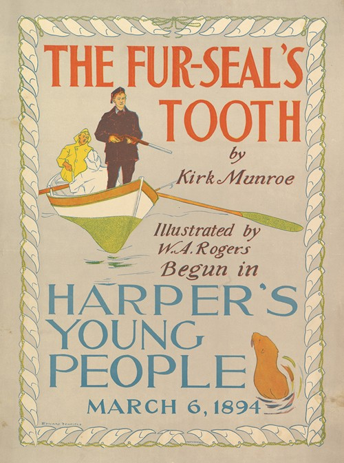 Harper's Young People; The Fur-Seal's Tooth by Kirk Monroe (1894)