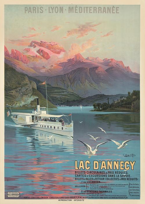 Le Lac d'Annecy, Paris-Lyon-Méditerranée (1900)