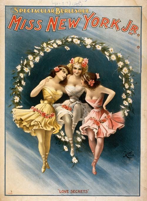 Miss New York Jr. spectacular burlesque. (1897)