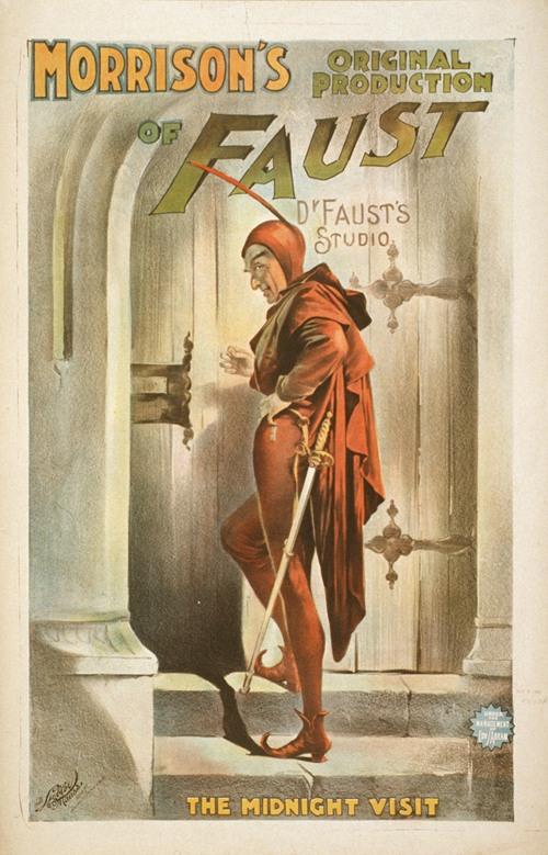 Morrison's original production of Faust (1896)