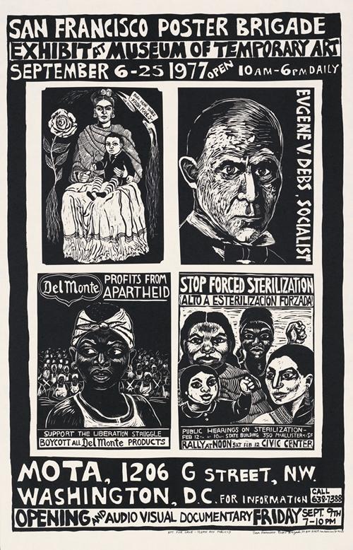 Exhibit at Museum of Temporary Art (1977)