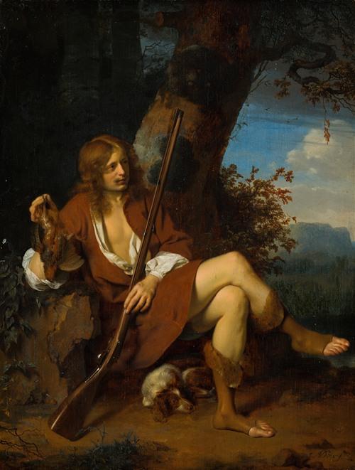 Self-Portrait as a Hunter (c. 1660)