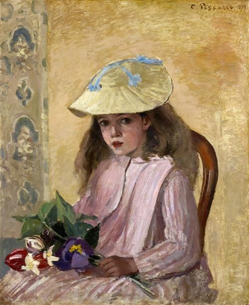 Portrait of the Artist's Daughter (1872)