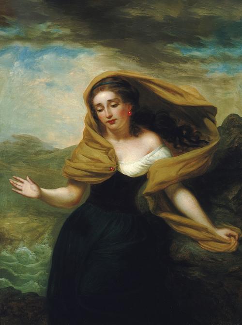 Miranda (from The Tempest) (1856)