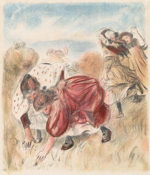Children Playing Ball (1900)