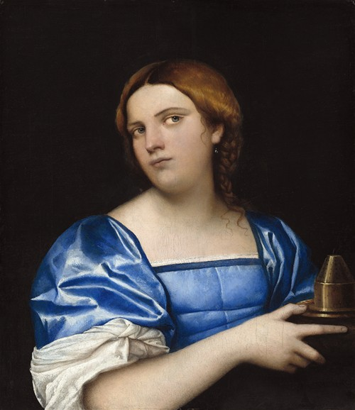 Portrait of a Young Woman as a Wise Virgin (c. 1510)