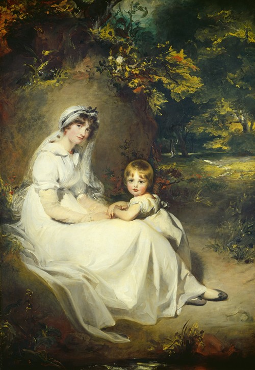 Lady Mary Templetown and Her Eldest Son (1802)