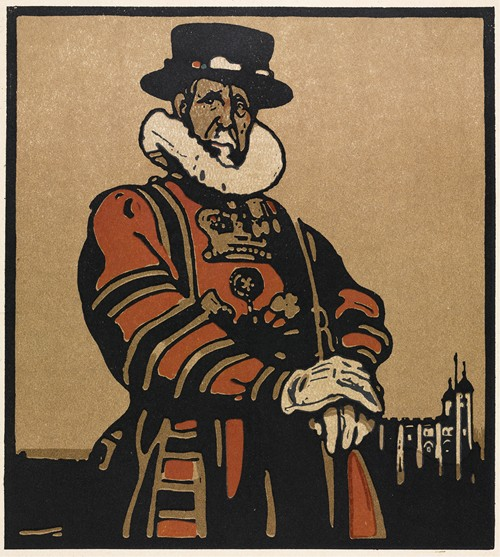 London Types,Beefeater (1898)