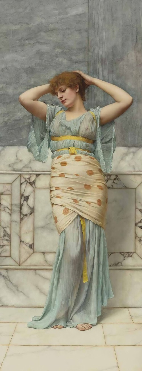 Beauty In A Marble Room (1894)