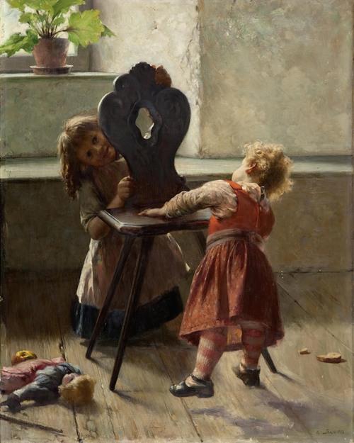 Peek A Boo (Ca.1896)