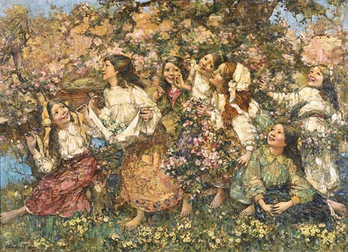 A spring-Time Rondeley (1910)