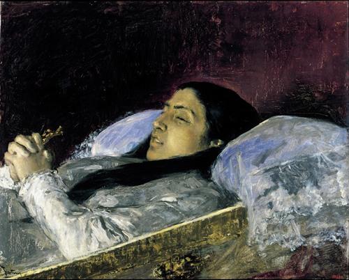 Miss Del Castillo on her Deathbed