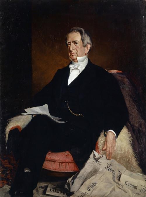 Portrait of U.S. Secretary of State William H. Seward (1869)