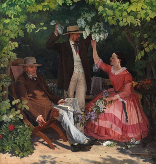 I lysthuset (1858 - 1859)