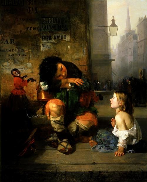 The Savoyard Boy in London (1865)
