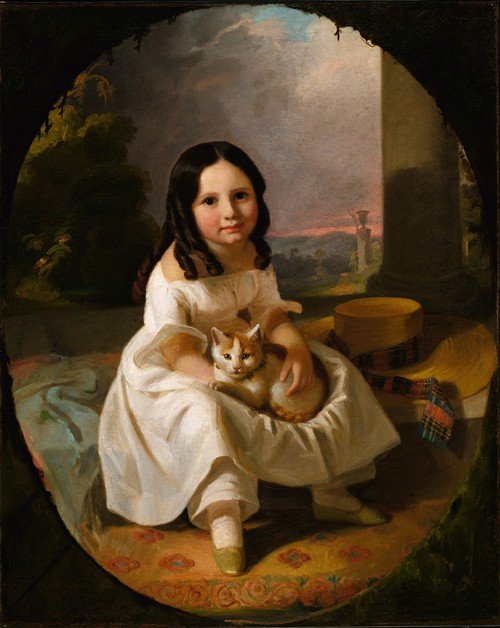 Mary Elizabeth Francis, the Artist's Daughter (ca. 1840)