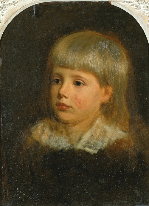 Charles Downing Lay, Portrait of the Artist's Son (ca. 1881-1883)
