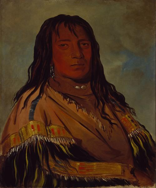 Chá-Tee-Wah-Née-Che, No Heart, Chief of The Wah-Ne-Watch-To-Nee-Nah Band (1832)