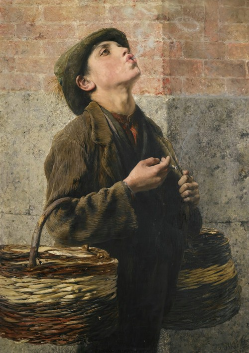 Smoke Rings (The Little Struggler) (1887)