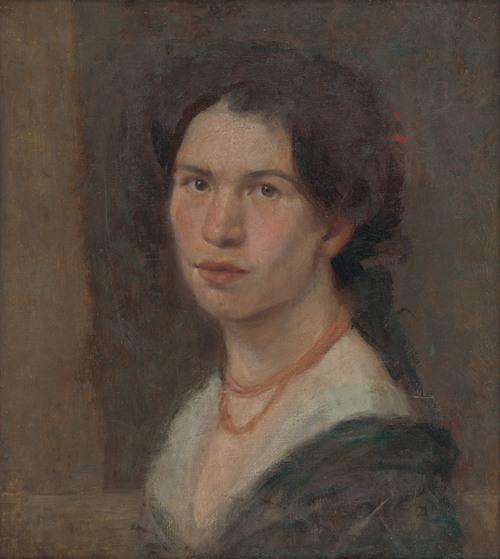 Portrait of the Artist Jonášová (1910)