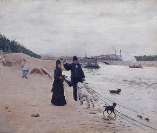 Les berges de la Seine (1880)