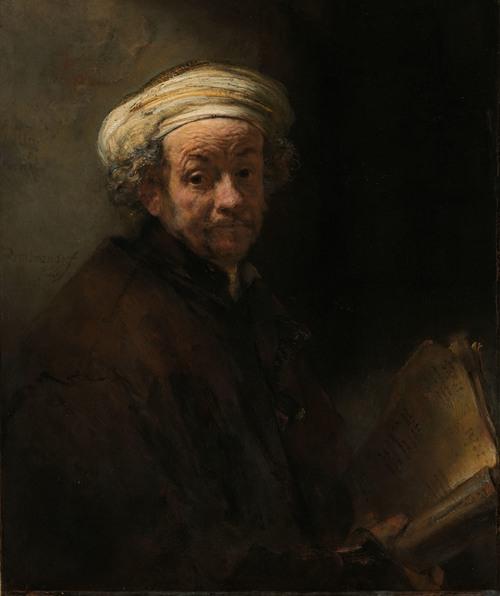 Self-portrait as the Apostle Paul (1661)