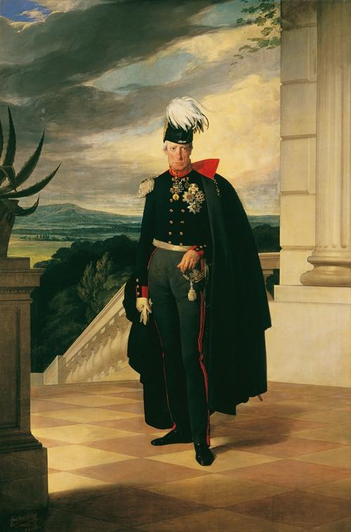 Kaiser Franz I. von Österreich in preußischer Generalsuniform (1834)
