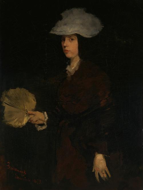 Lady with Fan (1873)
