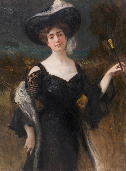 Damenbildnis (1900)