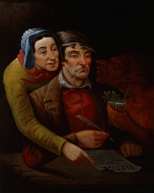 The Temperance Pledge (1851)